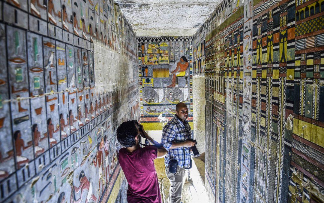 Grote archeologische vondst in Egypte: tombe uit vijfde dynastie ontdekt